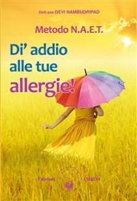 Cover NAET – Di' addio alle tue allergie!