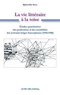 Cover La Vie littéraire à la toise