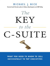 Cover The Key to the C-Suite