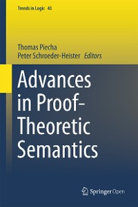 Cover Advances in Proof-Theoretic Semantics