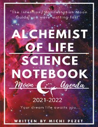 Cover Alchemist of Life Science Notebook Moon Agenda