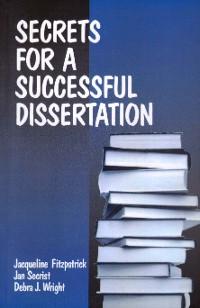 Cover Secrets for a Successful Dissertation