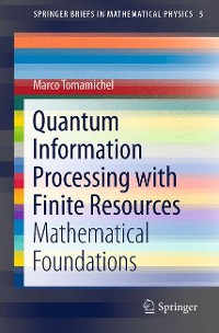 Cover Quantum Information Processing with Finite Resources