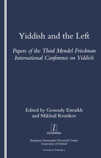 Cover Yiddish and the Left
