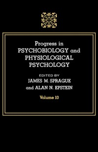 Cover Progress in Psychobiology and Physiological Psychology