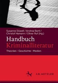 Cover Handbuch Kriminalliteratur