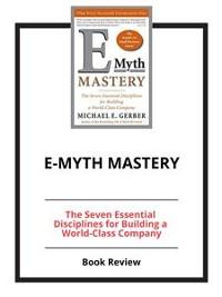 Cover E-Myth Mastery