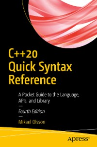 Cover C++20 Quick Syntax Reference