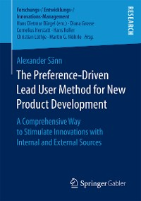 Cover The Preference-Driven Lead User Method for New Product Development