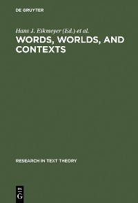 Cover Words, Worlds, and Contexts