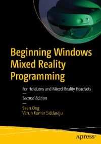 Cover Beginning Windows Mixed Reality Programming