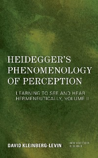 Cover Heidegger's Phenomenology of Perception