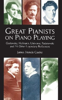 Cover Great Pianists on Piano Playing