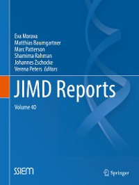 Cover JIMD Reports, Volume 40