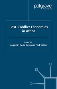Cover Post-Conflict Economies in Africa