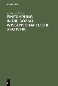 Cover Einführung in die sozialwissenschaftliche Statistik