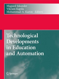 Cover Technological Developments in Education and Automation