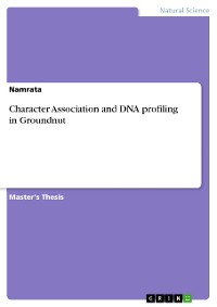 Cover Character Association and DNA profiling in Groundnut