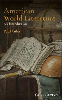 Cover American World Literature