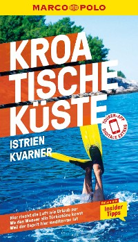 Cover MARCO POLO Reiseführer Kroatische Küste Istrien, Kvarner