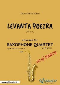 Cover Levanta Poeira - Saxophone Quartet set of PARTS