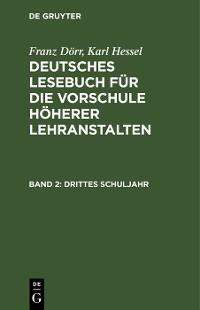 Cover Drittes Schuljahr