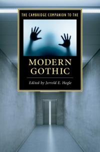 Cover Cambridge Companion to the Modern Gothic