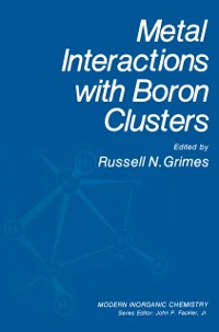 Cover Metal Interactions with Boron Clusters