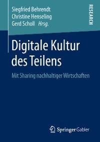 Cover Digitale Kultur des Teilens