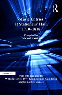 Cover Music Entries at Stationers' Hall, 1710-1818