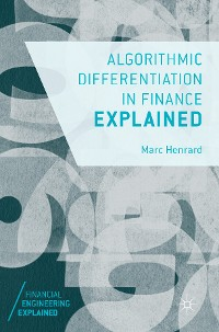 Cover Algorithmic Differentiation in Finance Explained