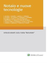 Cover Notaio e nuove tecnologie