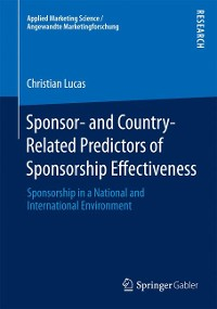 Cover Sponsor- and Country-Related Predictors of Sponsorship Effectiveness