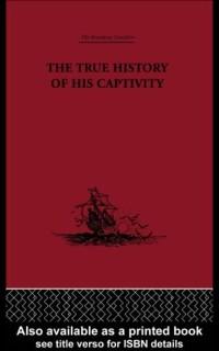 Cover True History of his Captivity 1557