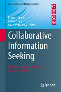 Cover Collaborative Information Seeking