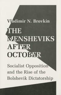 Cover Mensheviks after October