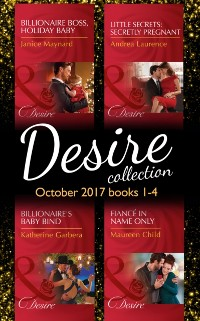 Cover Desire Collection: October 2017 Books 1 - 4 (Mills & Boon e-Book Collections)
