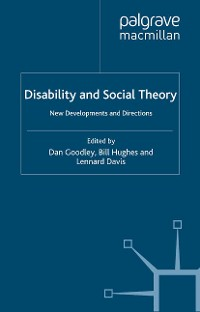 Cover Disability and Social Theory