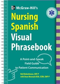Cover McGraw-Hill Education's Nursing Spanish Visual Phrasebook
