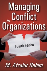 Cover Managing Conflict in Organizations
