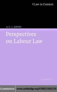 Cover Perspectives on Labour Law