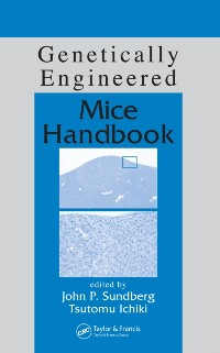 Cover Genetically Engineered Mice Handbook