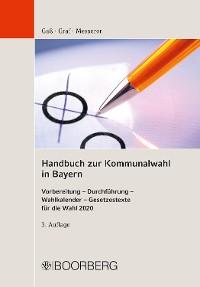 Cover Handbuch zur Kommunalwahl  in Bayern
