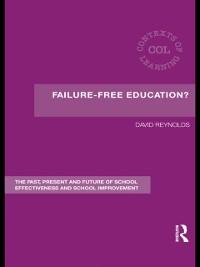 Cover Failure-Free Education?