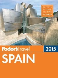 Cover Fodor's Spain 2015