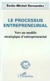 Cover LE PROCESSUS ENTREPRENEURIAL