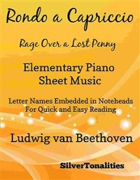 Cover Rage Over a Lost Penny Elementary Piano Sheet Music