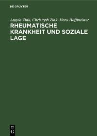 Cover Rheumatische Krankheit und soziale Lage