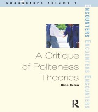 Cover Critique of Politeness Theory