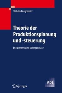 Cover Theorie der Produktionsplanung und -steuerung